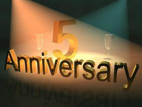 5th Anniversary!