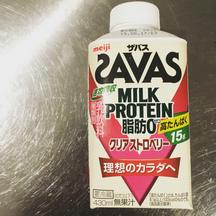 ザバスミルクプロテインレビュー
